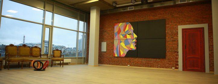 Закончены отделочные работы по устройству Gallery Loft